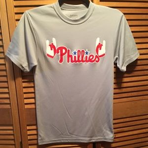 Phillies #37 El Torito Gray Jersey